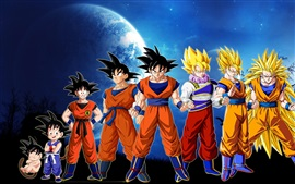 Preview wallpaper Dragon Ball Z, Monkey