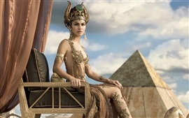 Preview wallpaper Elodie Yung as Hathor in Gods of Egypt