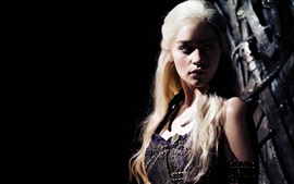 Preview wallpaper Emilia Clarke, Daenerys Targaryen, Game of Thrones, Season 6