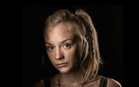 Emily Kinney en The Walking Dead