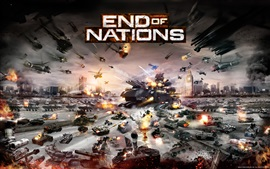 Preview wallpaper End of Nations PC game