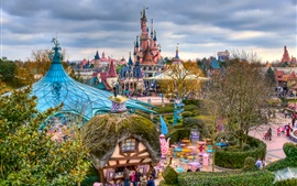 Preview wallpaper Fantasyland, Disneyland, Paris, France