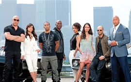 Preview wallpaper Fast and Furious 7