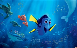 Preview wallpaper Finding Dory, animated movie 2016