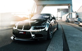 Preview wallpaper Fostla BMW M3 E92 car front view