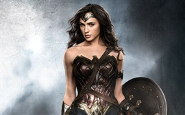 Preview wallpaper Gal Gadot as Wonder Woman 2017