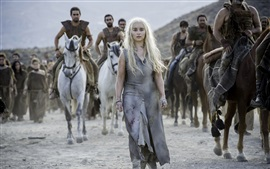 Aperçu fond d'écran Game of Thrones, Saison 6, Emilia Clarke