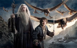 Preview wallpaper Gandalf and Bilbo Baggins in The Hobbit 3