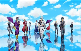 Preview wallpaper Gintama, Japanese anime