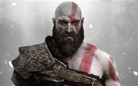 Preview wallpaper God of War, Sony PS4 game