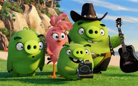 Preview wallpaper Green pigs, Angry Birds movie