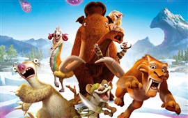 Preview wallpaper Ice Age 5: Collision Course, 2016 animated movie