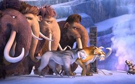 Vorschau des Hintergrundbilder Ice Age 5 HD