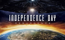 Preview wallpaper Independence Day: Resurgence, 2016 movie
