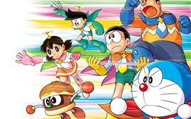 Preview wallpaper Japanese anime, Doraemon