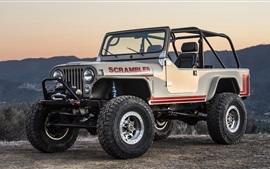 vista frontal Jeep CJ-8 Scrambler SUV
