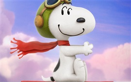 Preview wallpaper Lovely snoopy in the wind