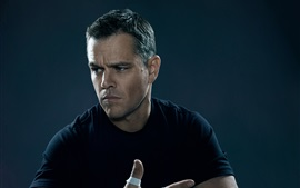 Matt Damon en Jason Bourne 2016