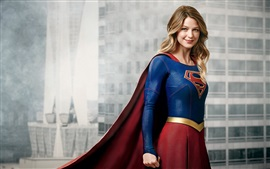 Preview wallpaper Melissa Benoist as Supergirl