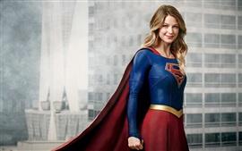 預覽桌布 梅利莎·拜諾伊斯特作為女超人