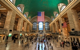 Preview wallpaper New York, USA, Grand Central Terminal