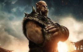 Preview wallpaper Orgrim in Warcraft 2016