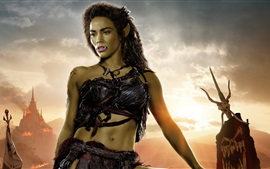 Preview wallpaper Paula Patton, Garona, Warcraft 2016