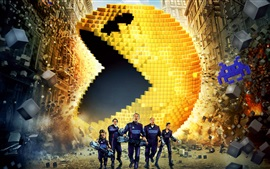 Preview wallpaper Pixels movie 2015