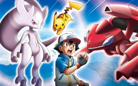 Preview wallpaper Pokemon, classic anime