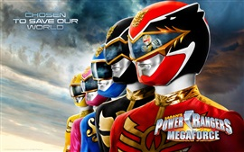 Preview wallpaper Power Rangers: Megaforce, TV series