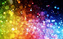 Rainbow colors, colorful lights, abstract pictures