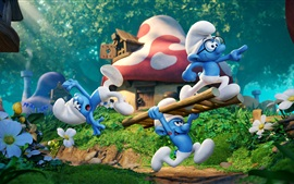 Preview wallpaper Smurfs 3: The Lost Village 2017