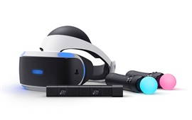Preview wallpaper Sony PlayStation VR close-up