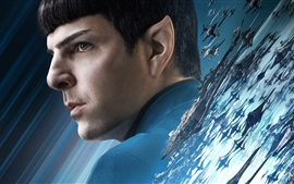 Spock de Star Trek Más allá de 2016