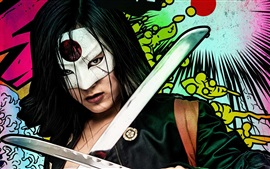 Preview wallpaper Suicide Squad, Katana