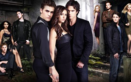 Preview wallpaper TV series, The Vampire Diaries HD