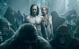Preview wallpaper The Legend of Tarzan HD
