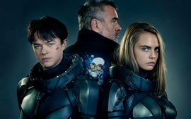 Preview wallpaper Valerian and the City of a Thousand Planets 2017