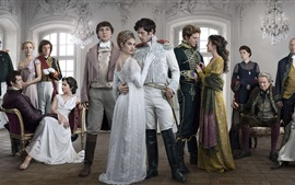 Preview wallpaper War and Peace, TV series 2016