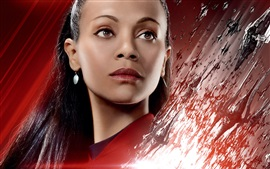 Preview wallpaper Zoe Saldana, Star Trek Beyond
