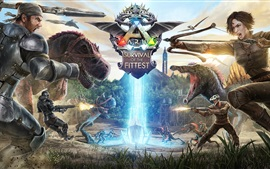 Preview wallpaper Ark: Survival Of The Fittest, PS4 games