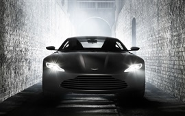 Preview wallpaper Aston Martin DB10 supercar front view