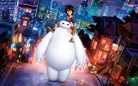Preview wallpaper Big Hero 6, cartoon movie