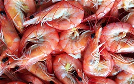 Preview wallpaper Boiled shrimp