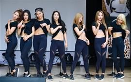 Aperçu fond d'écran Brave filles, groupe de musique coréenne 07