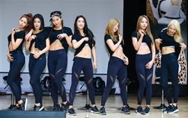 Las niñas valientes, grupo de música coreana 07