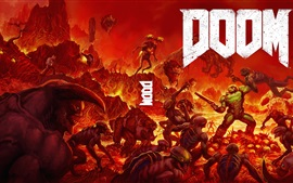 Preview wallpaper Doom PS4 game