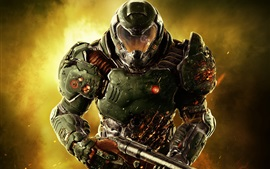 Preview wallpaper Doom, soldier