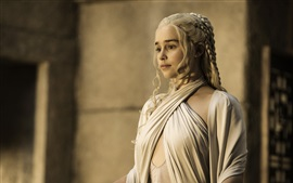 Aperçu fond d'écran Emilia Clarke, Game of Thrones, Saison 5