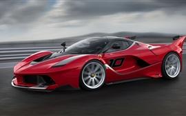 Ferrari FXX K суперкар на высокой скорости